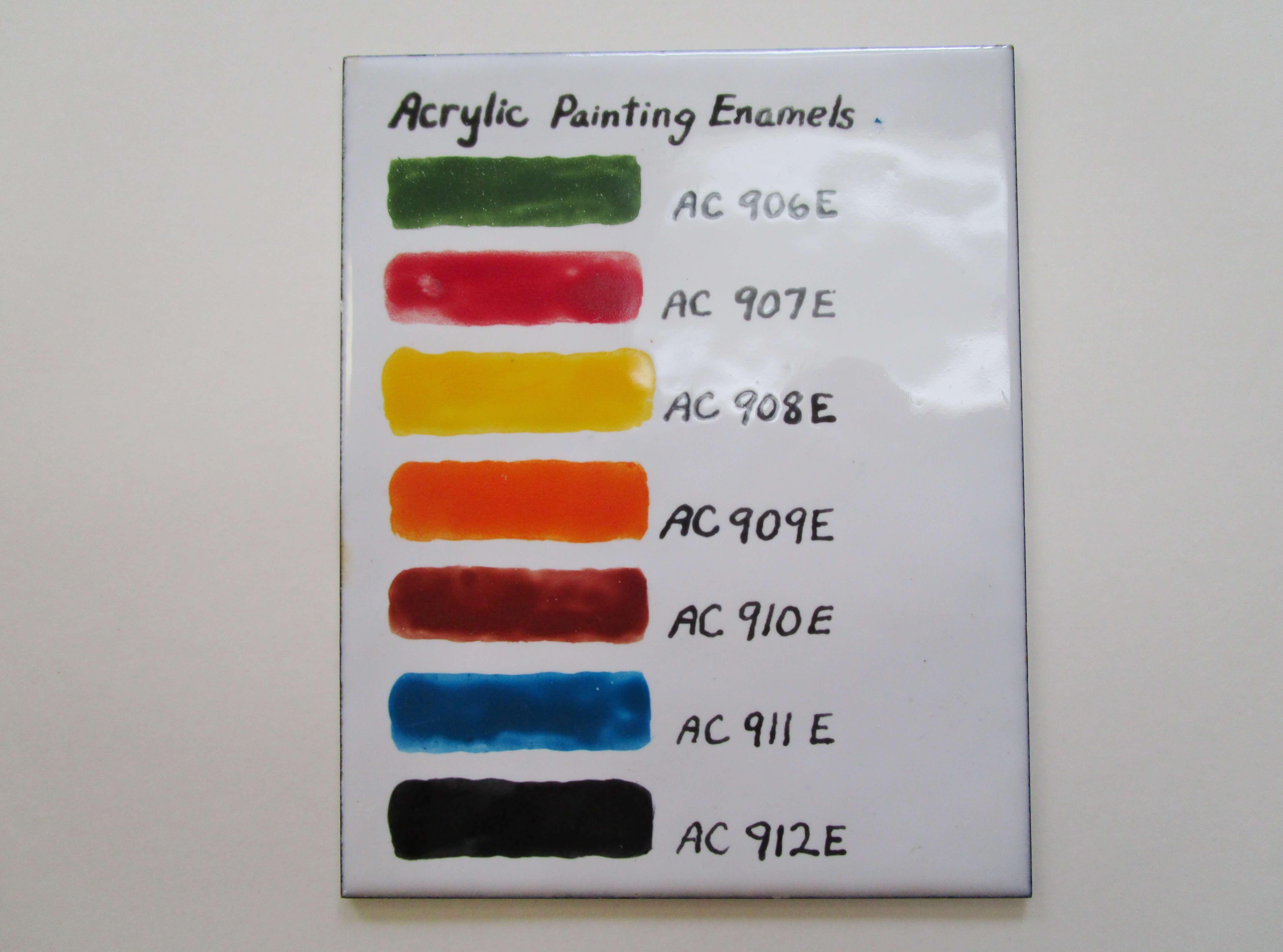 Acrylic Enamel Thompson Enamel